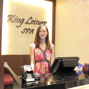 King Leisure Spa Counter