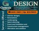 Genesis Design Photos