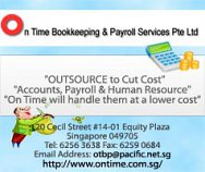 On Time Bookkeeping & Payroll Services Pte Ltd