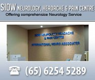 Siow Neurology Headache & Pain Centre