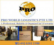 Pro World Logistics Pte Ltd