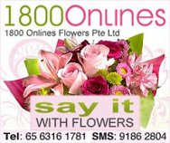 1800 Onlines Flowers Pte Ltd