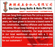 Sin Lian Seng Bolts & Nuts Pte Ltd