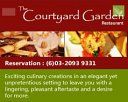 The Courtyard Garden Restaurant Photos