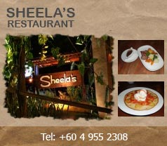 Sheela's Restaurant Langkawi Photos