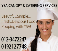YSA Canopy & Catering Photos