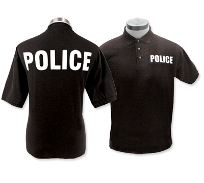 Greto convection jakarta indonesia for Embroidered police polo shirts