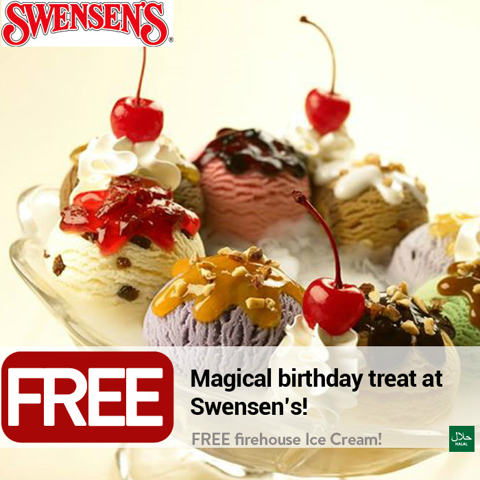 Swensen's Singapore (Offers