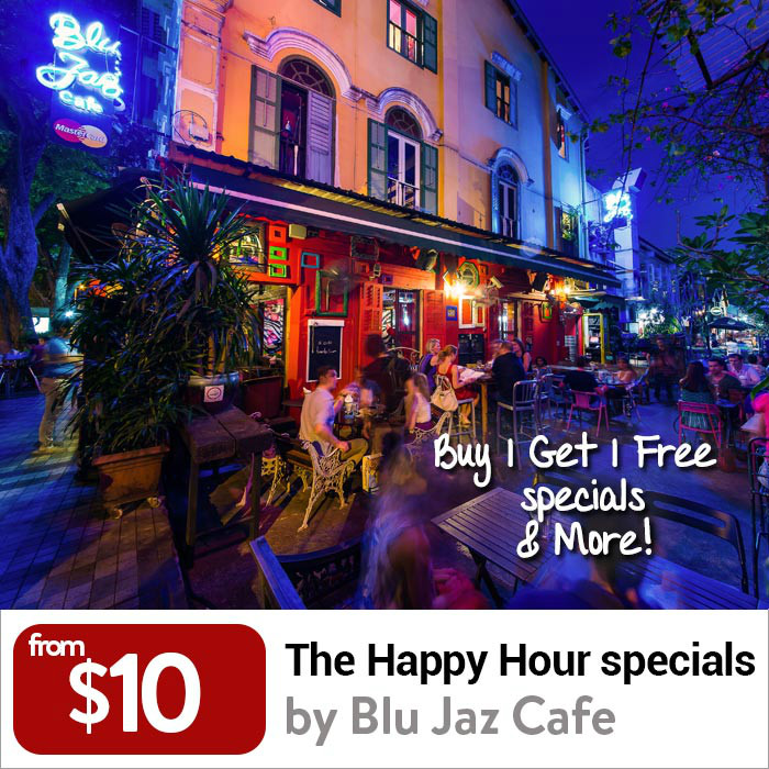 Blu Jaz Cafe Happy Hour