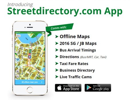 Streetdirectory App! 2019 Edition is Now available for download