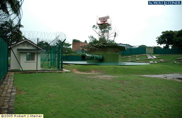 War Memorial Site - Johore Battery