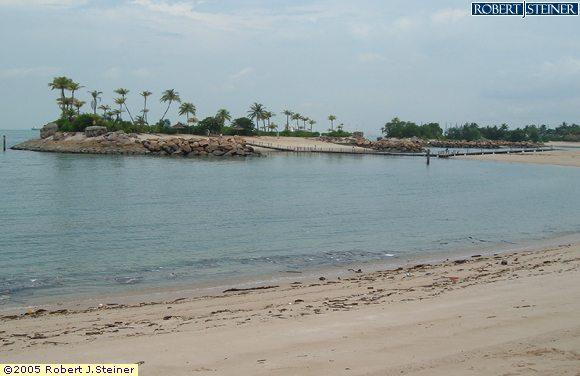 Sentosa Beaches, Siloso Beach, For a quick getaway