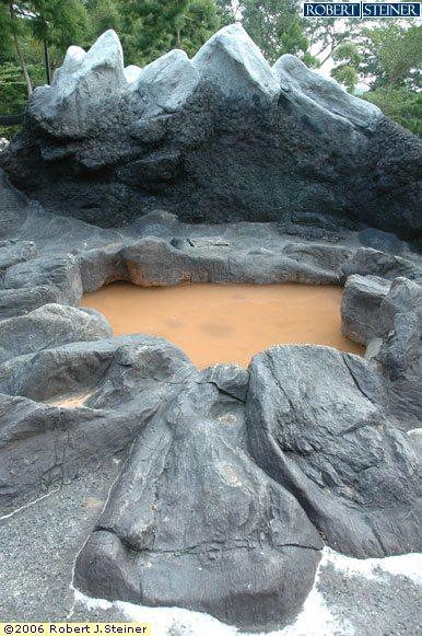 Singapore Botanic Gardens, A replica of  Volcano