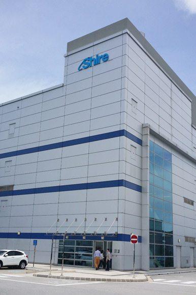 Shire Singapore Manufacturing Plant