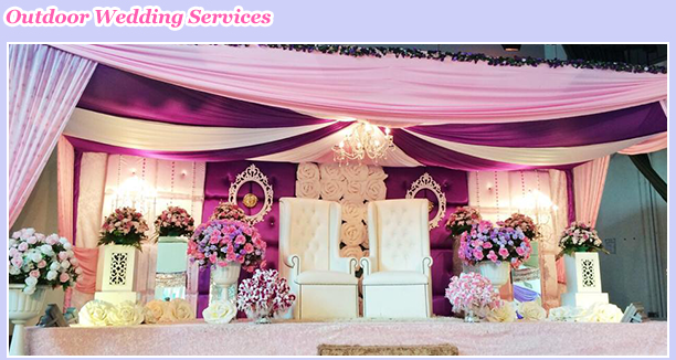 charisma d venue and bridal our services
