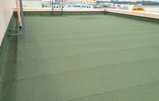 waterproofing membrane system after