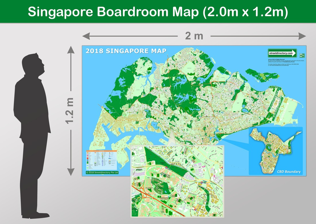 Buy Wall Maps - Singapore Wall Maps, Asia Maps & World Maps