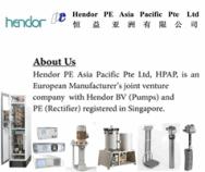 Hendor PE Asia Pacific Pte Ltd
