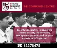 Security Specialist Inc Pte Ltd
