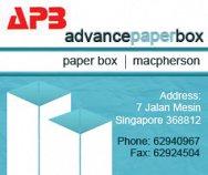 Advance Paper Box