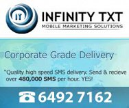 An Infinity TXT Mobile Marketing Solution
