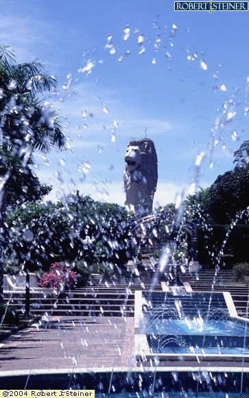 Sentosa, Musical Fountain (Merlion)