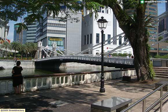 Cavenagh Bridge Side View